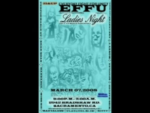 EFFU Records Ladies Night 03-07-08