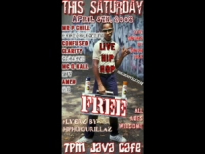 Java Cafe Pirate Radio Ent Presents 04-05-08