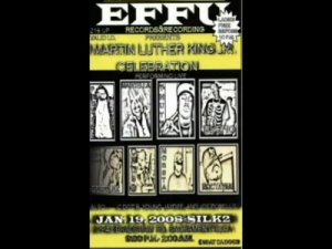 01-19-08 EFFU Records Martin Luther King Jr. Celebration