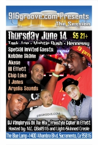 916groove.com Presents The Session(21+) June 14th 2012