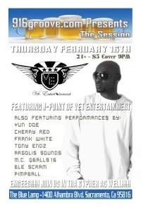 916groove.com Presents The Session(21+) Thursday February 16Th 2012
