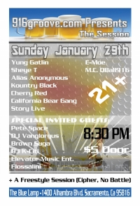 916groove.com Presents The Session(21+) Jan 29th 2012